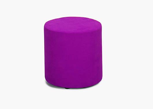 pouf rond rose fushia. Black Bedroom Furniture Sets. Home Design Ideas