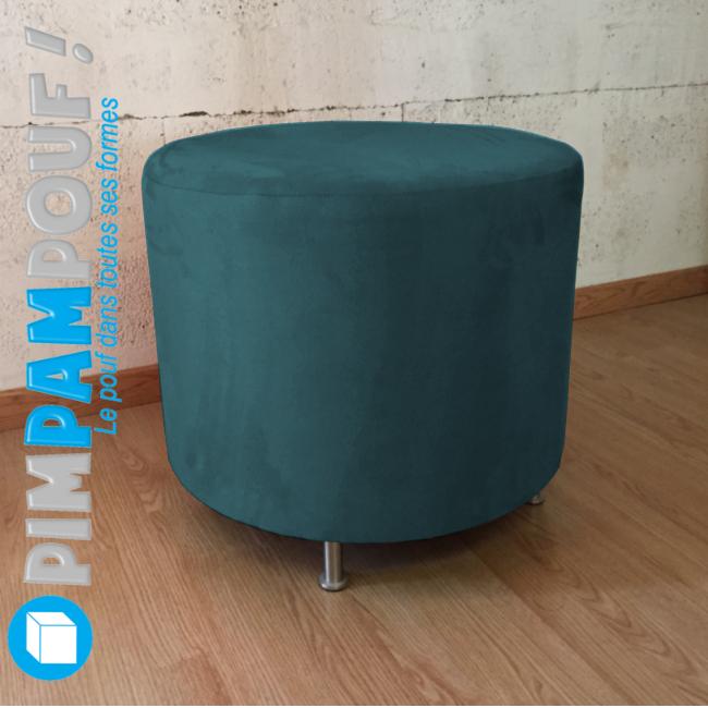 pouf rond en velours orange de 60 cm petites annonces gratuites d 39 occasion bonokaz. Black Bedroom Furniture Sets. Home Design Ideas